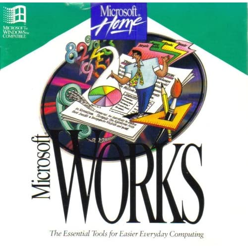 Microsoft Works ~ Version 3.0 [ CD-ROM ] { Windows 3.1 or later