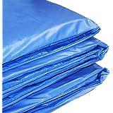 Howleys Coussin de protection en mousse de PVC pour trampoline Bleu