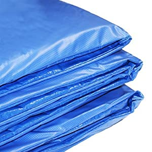Coussin de protection de remplacement pour trampoline env 244 cm amazon f - Protection trampoline 244 ...