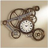 Southern Enterprises Gear Wall Clock