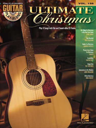 Ultimate Christmas - Guitar Play-Along Volume 158 (Book/CD (Hal Leonard Guitar Play-Along)
