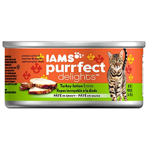 Iams Purrfect Delights Turkey-lation Entrée Pâté In Sauce