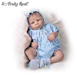 Eva Helland Realistic Baby Boy Doll: Jonathan by Ashton Drake