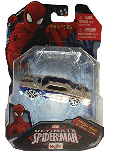 Ultimate Spider-Man Rosewood Die-Cast Collection Marvel Heroes Car - 1