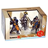 Schleich 3-pc. Foot Soldiers with Lion Coat of Arms Box Set