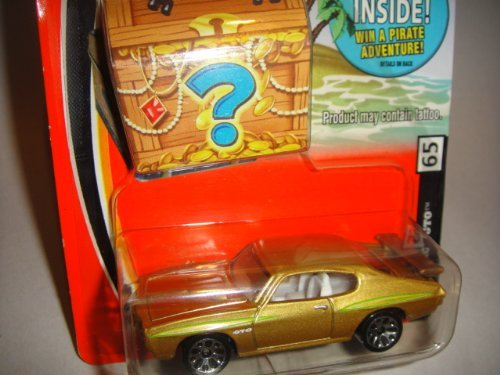 Matchbox treasure chest package Gold pontiac GTO