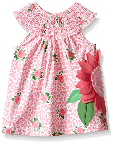 Mud Pie Little Girls Rose Dress, Multi, 3T (Mud Pie Easter Size 3t compare prices)