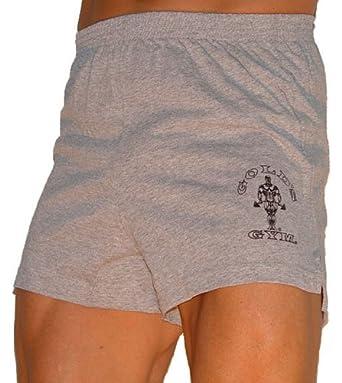 G601 Golds Gym Shorts (L, Grey)