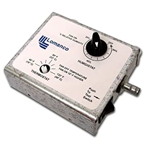 Lomanco Thermo Ventilator Thermostat Lomanco Motor