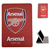 Apple ipad 2 Flip Case,Apple ipad 3 Flip Case,Apple ipad 4 Flip Case, UK-Cherry New Ultra-thin Fashion Football Series Real Madrid Barcelona Chelsea Manchester United AC Milan Liverpool Arsenal European Football Team Team Logo Flip PU Leather Case Cover for Apple ipad 2 3 4 (ipad 2/3/4 , Arsenal)