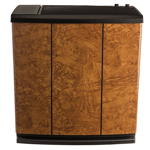 AIRCARE H12-400HB 3-Speed Whole-House Console-Style Evaporative Humidifier, Oak Burl - 1