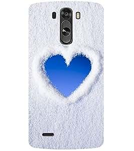 Evaluze heart Printed Back Case Cover for LG G4