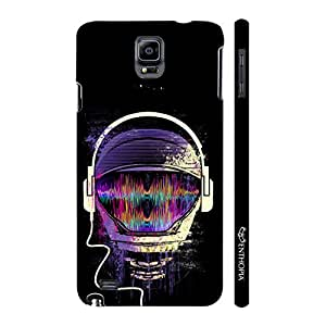 Enthopia Designer Hardshell Case Astronomical Music Back Cover for Samsung Galaxy Note 4