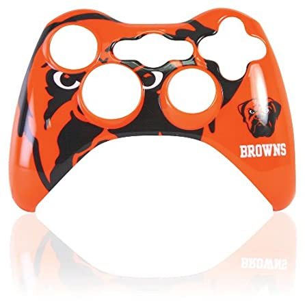 Xbox 360 Official NFL Cleveland Browns Controller Faceplate