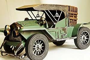 collection passion 40 cm de longueur voitures miniatures ancienne voiture vieille verte roadster. Black Bedroom Furniture Sets. Home Design Ideas