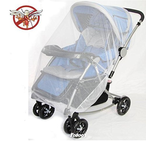 Yosoo-Multifunctional-Universal-150120cm-Baby-Cart-Full-Cover-Mosquito-Net-Travel-System-Insect-Netting-Mosquito-Insect-Bee-Bug-Net-Fits-Most-Strollers-Bassinets-Cradles-and-Car-Seats-Safe-Mesh-Buggy-