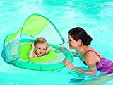 SwimWays Baby Spring Float Sun Canopy (Green)