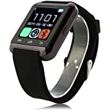 Touch Screen Smartwatch U Watch U8 Answer and Dial the Phone Bluetooth Photograph Altitude Meter For iphone 6 6plus 5c 5s 5 HTC LG SONY Sumsung - Black