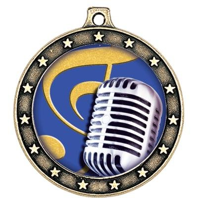 Microphone Medals -- Microphone Medal