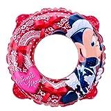 Disney(ディズニー) プール ビーチ ジュニア 浮き輪 ミニーうきわ レッド