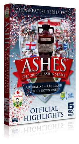 ASHES SERIES 2010/2011 [IMPORT ANGLAIS] (IMPORT)  (COFFRET DE 5 DVD)