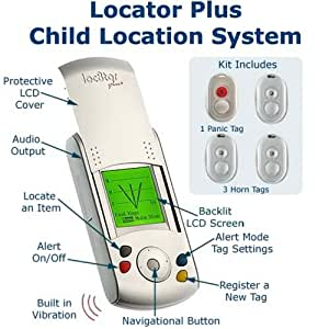 Loc8tor PLUS Locator Plus - Pet Handheld Pet Finder | Pet Locator | Lost Item Finder