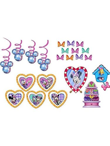Minnie's Bow-tique Decorating Kit Birthday Party Supplies