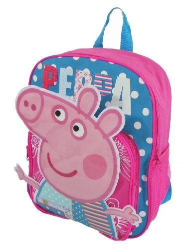 1 X Children Peppa Pig Backpacks Kids Cartoon School Bag Bookbag - 1