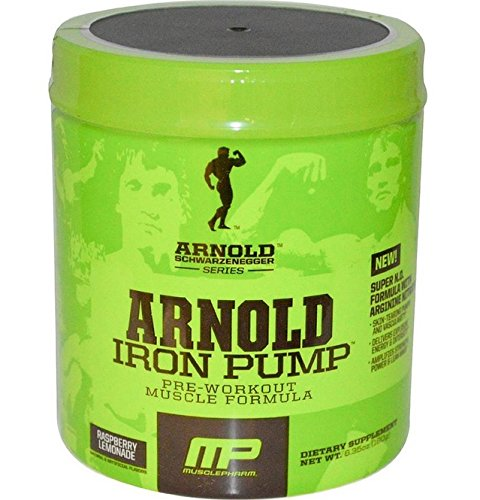 Iron Pump Raspberry Lemonade - Arnold Schwarzenegger Pre-Workout - 30 Servings
