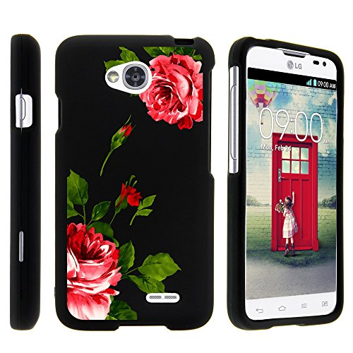 LG Ultimate 2 Case, Slim Fit Snap On Cover with Unique, Customized Design for LG Optimus L70 MS323, LG Optimus Exceed 2 VS450PP, LG Realm LS620, LG Ultimate 2 L41C (Metro PCS, Verizon, Boost Mobile) from MINITURTLE | Includes Clear Screen Protector and Stylus Pen - Affectionate Flowers (Lg Ultimate 2 Cases compare prices)