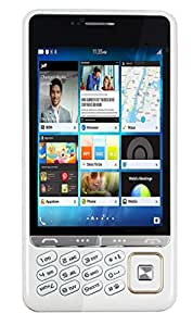 Disko Q200 Touch and Keyboad Mobile phone in White Colour