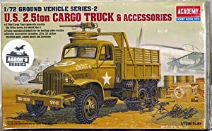 Academy 1/72 US 2 1/2 Ton 6x6 Cargo Truck