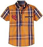 Seals Boys' Shirt (D1844_Orange_8 - 9 years)