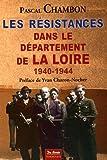 """Afficher """"Les Résistances dans le département de la Loire"""""""
