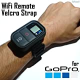 GoPro WiFi Remote Control Velcro Wrist Strap / Band / Mounting / Accessory - HERO3 HERO Black Silver White