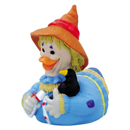 CelebriDucks Wizard of Oz Scarecrow RUBBER DUCK Bath Toy