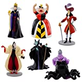 Disney Villains Figure Play Set 6 Pieces