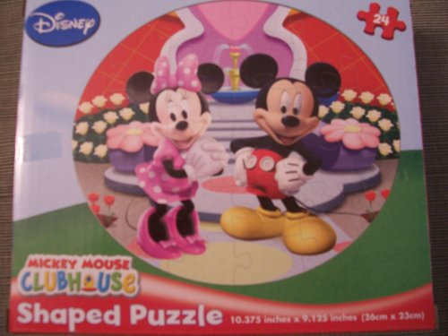 Cheap Cardinal Disney Mickey Mouse Clubhouse 24 Piece Shaped Puzzle – Mickey and Minnie (B0048MFIUS)