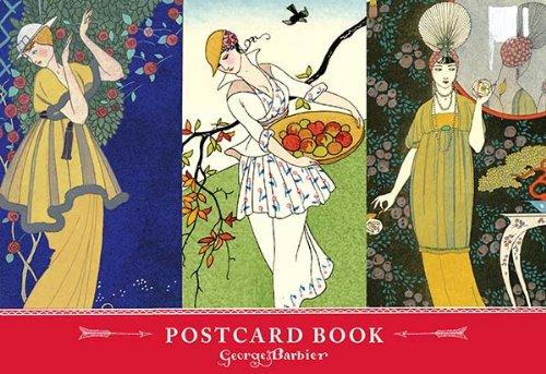 The Art & Fashion of George Barbier Postcard Book