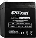 ExpertPower EXP1250  12V 5Ah Home Alarm Battery with F1 Terminals
