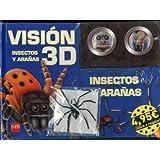 Insectos y arañas + Araña (Vision 3d)