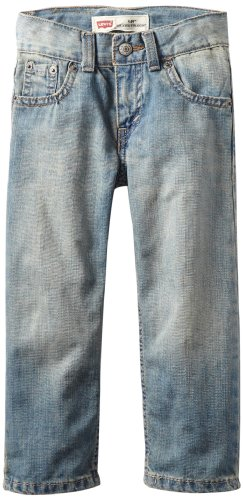 Levi'S Little Boys' 505 Regular Straight Jean, Anchor, 4T front-616210