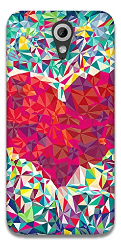 The Racoon Lean printed designer hard back mobile phone case cover for HTC Desire 620g. (Love trian)  available at amazon for Rs.99