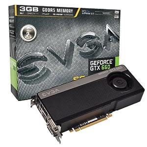 EVGA GeForce GTX 660 SUPERCLOCKED 3072MB GDDR5 DVI
