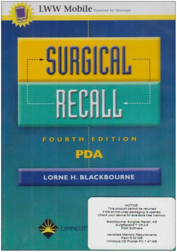 Surgical Recall for PDA (Recall Series)