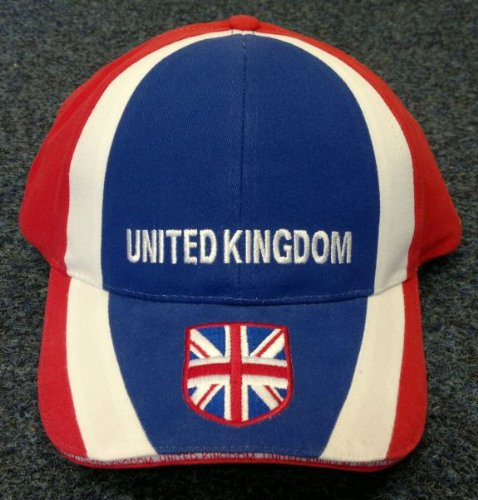 Children's / Kid's UNISEX (100% Brushed Thick Cotton Drill) Designer-Style Union Jack / GB Baseball Cap - Patriotic For The London 2012 Olympics, Or Just To Wear Your Hat With Pride