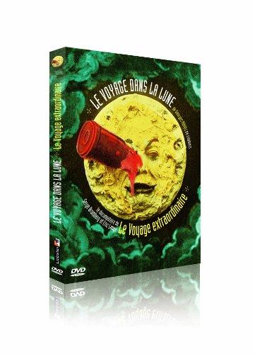Le Voyage dans la Lune de Georges Méliès en couleurs + Le voyage extraordinaire [Francia] [DVD]