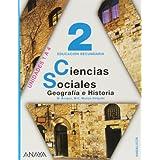 Ciencias Sociales: Geografía e Historia, 2, Educación Secundaria, 3 volúmenes (Andalucía)