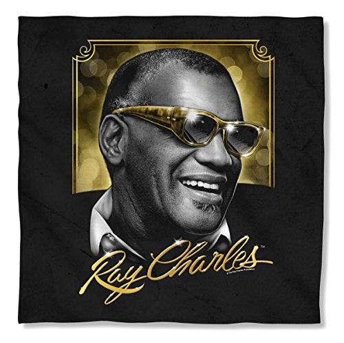 Ray Charles Golden Glasses Sublimation Bandana