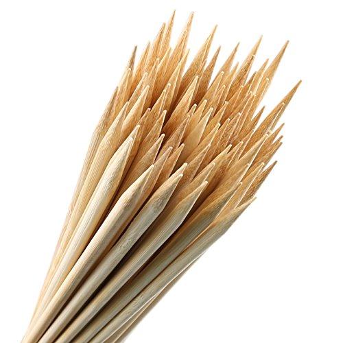 Bamboo Marshmallow Roasting Sticks Set Of 100 30 Inch